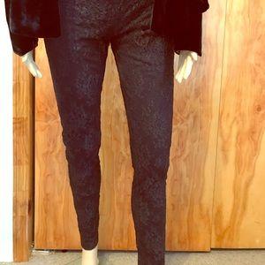 Haute Hippie Black Lace Pants New W/Tag $258